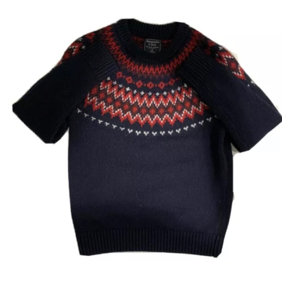 Abercrombie & Fitch Knit Christmas Sweater